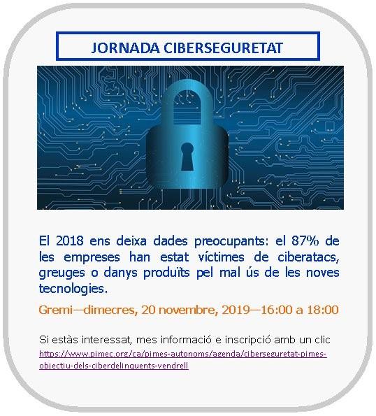 Jornada Cibersecuretat...